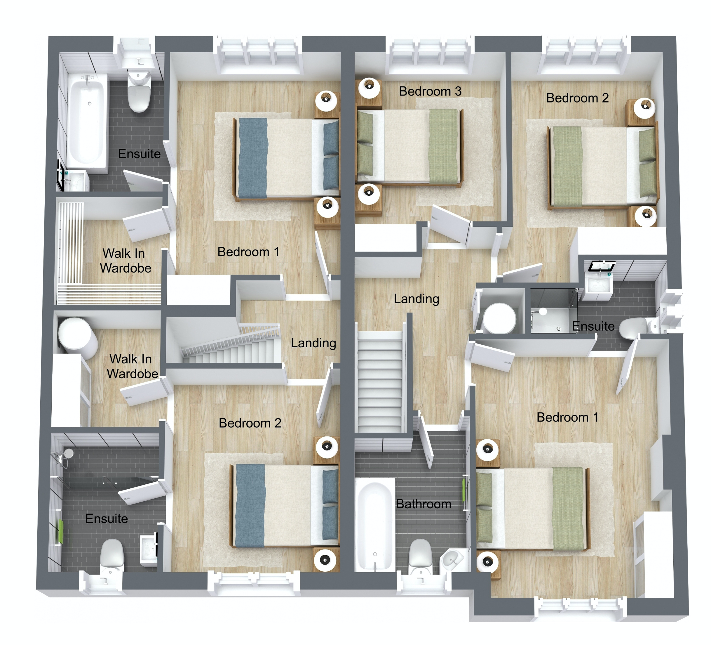 Luxery New 2 or 3 Bed Family Townhouses in Drogheda - Kestrel Manor